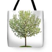 Flowering Apple Tree Tote Bag
