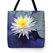 Flowering Lily-pad- St Marks Fl Tote Bag