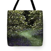 Flowering Trees Amid A Meadow Full Tote Bag