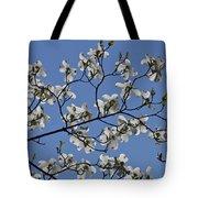 Flowering White Dogwood Tote Bag