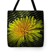 Flowers Are Weeds With Respect Tote Bag