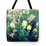 Flowers At Noon Tote Bag