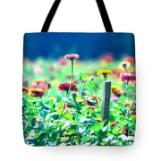 Flowers Everywhere Tote Bag