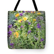Flowers In Charlottenburg Palace Garden Tote Bag