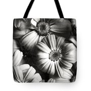 Flowers In Sepia Tone Tote Bag