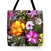 Flowers In Stephanie's Garden Tote Bag