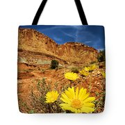 Flowers In The Capitol Tote Bag