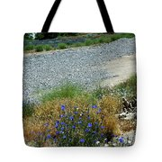 Flowers In The Gold Hill Desert Tote Bag