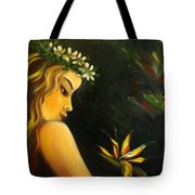 Flowers Of Paradise Tote Bag