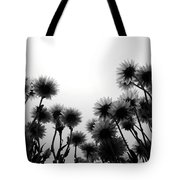 Flowers Standing Tall Tote Bag