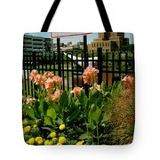 Flowerscape  Tote Bag