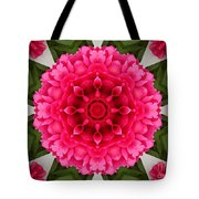 Flowery Creation Tote Bag