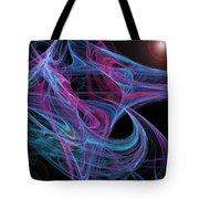 Flowing Energy II Tote Bag