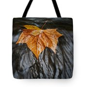 Flowing Leaf Tote Bag