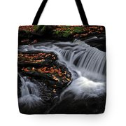 Flowing Through Fall Color Tote Bag