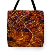 Flowing Water Of The Elwha Tote Bag