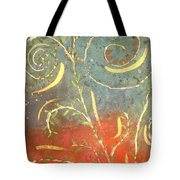 Flowing Wild In The Sun Tote Bag