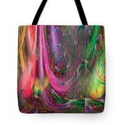 Fluidic Space Tote Bag