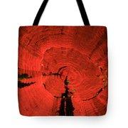 Fluorescent Coral In Uv Light Tote Bag