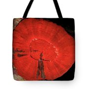 Fluorescent Coral In White Light Tote Bag