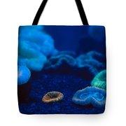 Fluorescent Corals Tote Bag
