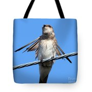Fluttering Swallow Tote Bag