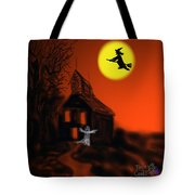 Fly By Night Tote Bag by Kevin Caudill