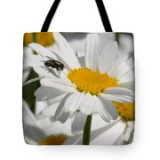 Fly In The Flower Tote Bag