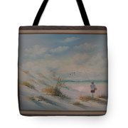 Flying A Kite Tote Bag