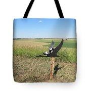 Flying Baby Pandas. North Dakota. Tote Bag