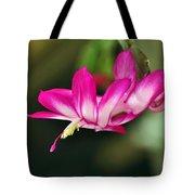 Flying Cactus Flower Tote Bag