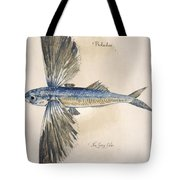 Flying-fish, 1585 Tote Bag