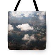 Flying Over Spanish Land Iv Tote Bag