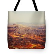 Flying Over Spanish Land Tote Bag
