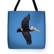 flying Pelican Tote Bag