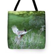 Flying Pheasant Tote Bag