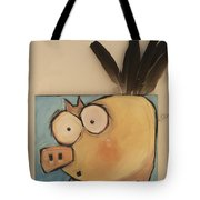 Flying Pig First Flight Tote Bag
