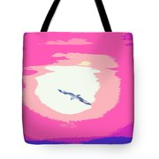 Flying To Heaven Tote Bag