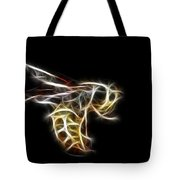 Flying Wasp Tote Bag