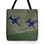 Flying With The Aero L-39 Albatros Tote Bag by Daniel Karlsson