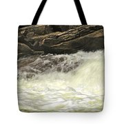 Foamy Cascade Tote Bag