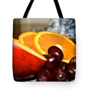 Focus Food Tote Bag
