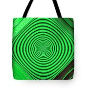Focus On Green Tote Bag