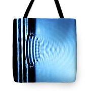 Focusing Water Waves Tote Bag