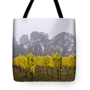 Fog In The Fall Tote Bag