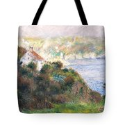 Fog On Guernsey Tote Bag