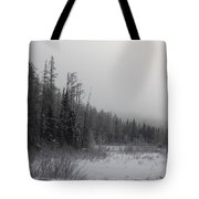Foggy Day Tote Bag