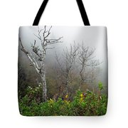 Foggy Day On The Blueridge Tote Bag