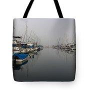 Foggy Morn Tote Bag by Heidi Smith