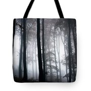 Foggy Woods Ireland Tote Bag